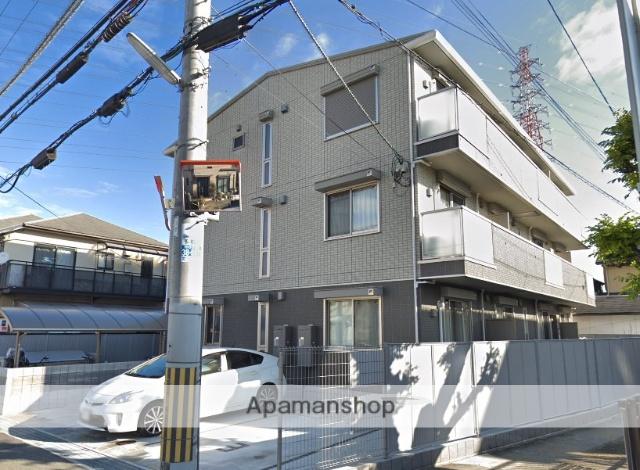 大阪府堺市北区、北花田駅徒歩18分の新築 3階建の賃貸アパート