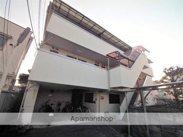大阪府富田林市、川西駅徒歩20分の築29年 3階建の賃貸マンション