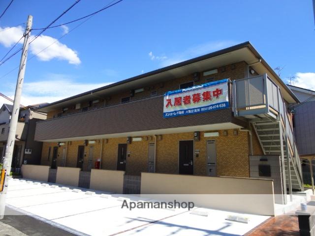 大阪府松原市、布忍駅徒歩13分の築4年 2階建の賃貸アパート