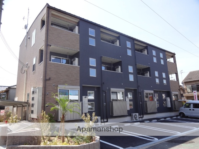 大阪府大阪市東住吉区、矢田駅徒歩6分の築3年 3階建の賃貸アパート