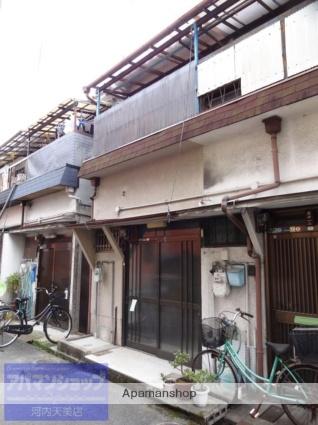 大阪府松原市、矢田駅徒歩18分の築45年 2階建の賃貸テラスハウス