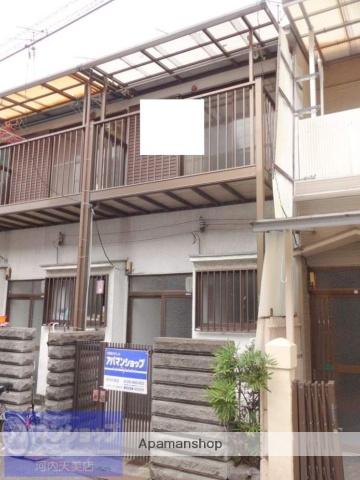 大阪府松原市、布忍駅徒歩23分の築47年 2階建の賃貸テラスハウス