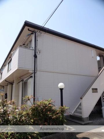 大阪府松原市、河内松原駅徒歩16分の築22年 2階建の賃貸アパート