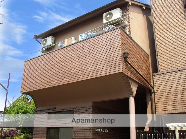 大阪府松原市、布忍駅徒歩24分の築21年 2階建の賃貸アパート