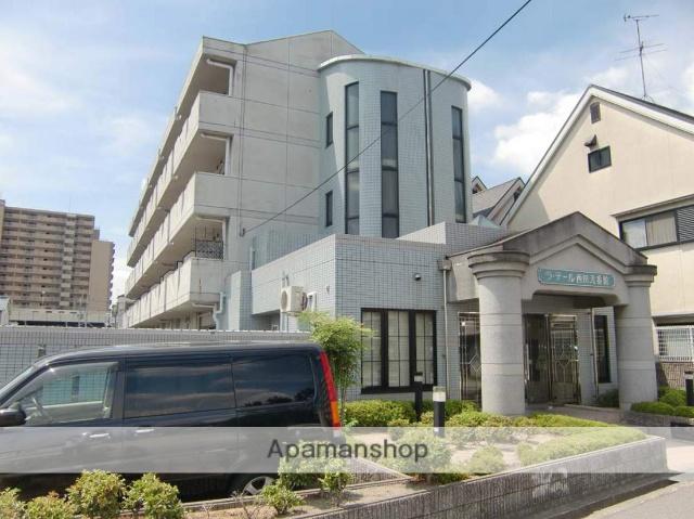 大阪府松原市、河内天美駅徒歩12分の築21年 4階建の賃貸マンション