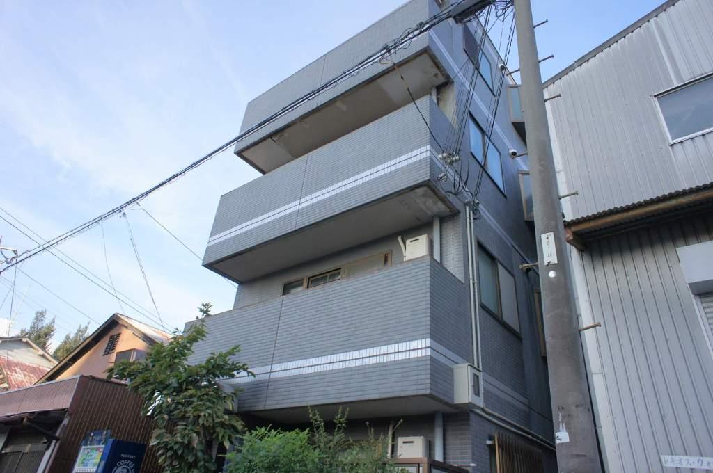 大阪府大阪市西淀川区、塚本駅徒歩5分の築27年 4階建の賃貸マンション