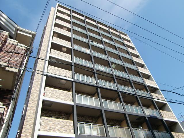 大阪府大阪市福島区、海老江駅徒歩5分の築8年 11階建の賃貸マンション