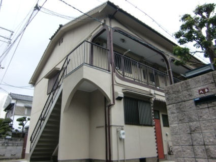 大阪府大阪市西淀川区、御幣島駅徒歩13分の築34年 2階建の賃貸アパート