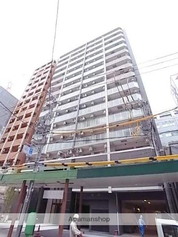 大阪府大阪市中央区、堺筋本町駅徒歩4分の築2年 15階建の賃貸マンション