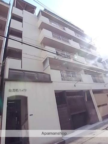 大阪府大阪市中央区、谷町六丁目駅徒歩9分の築38年 5階建の賃貸マンション