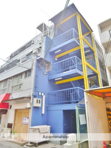 大阪府大阪市旭区、森小路駅徒歩2分の築45年 5階建の賃貸マンション