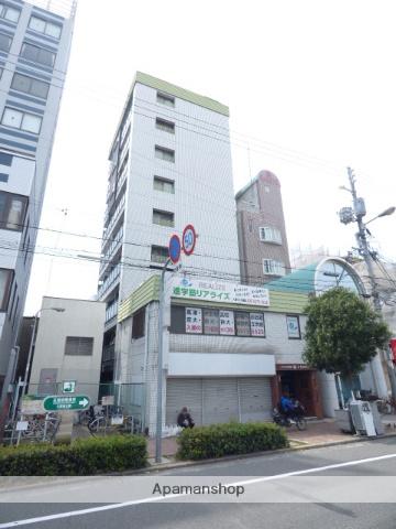 大阪府大阪市東成区、今里駅徒歩11分の築30年 10階建の賃貸マンション
