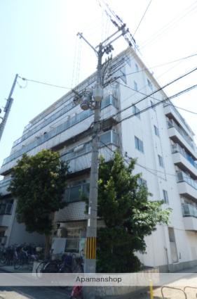 大阪府大阪市東成区、新深江駅徒歩3分の築28年 6階建の賃貸マンション