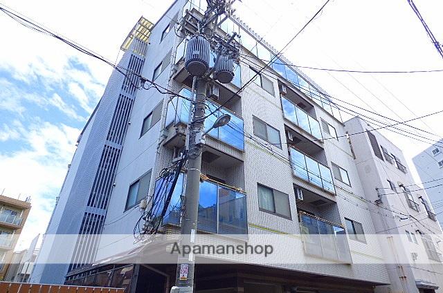 大阪府大阪市東成区、森ノ宮駅徒歩13分の築25年 5階建の賃貸マンション