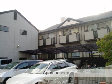 大阪府東大阪市、河内永和駅徒歩20分の築18年 2階建の賃貸アパート