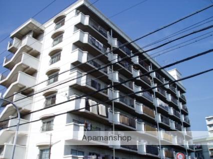 大阪府東大阪市、長田駅徒歩3分の築35年 8階建の賃貸マンション