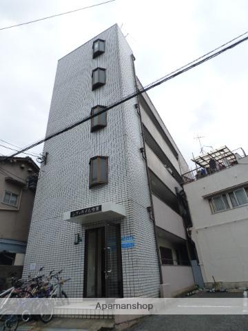 大阪府大阪市東成区、鶴橋駅徒歩12分の築30年 4階建の賃貸マンション