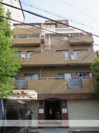 大阪府大阪市東成区、森ノ宮駅徒歩12分の築30年 5階建の賃貸マンション