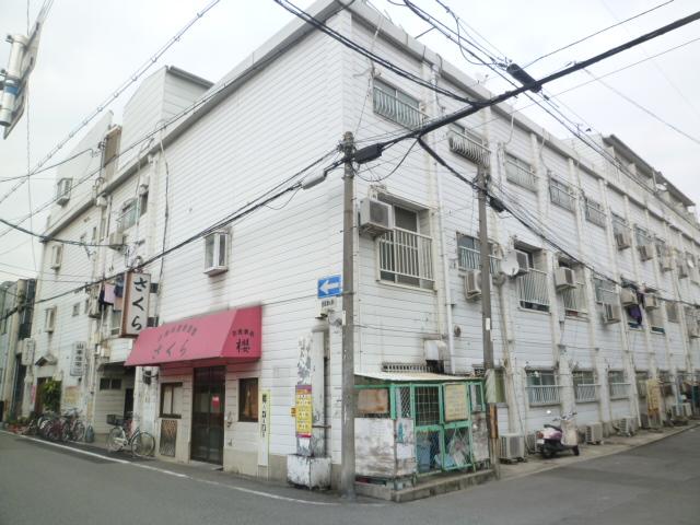 大阪府大阪市平野区、平野駅徒歩23分の築51年 3階建の賃貸マンション