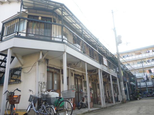 大阪府大阪市平野区、加美駅徒歩7分の築42年 2階建の賃貸アパート