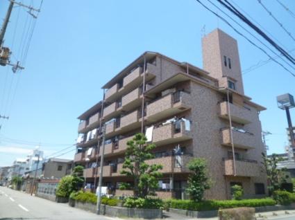 大阪府大阪市平野区、針中野駅徒歩17分の築30年 6階建の賃貸マンション