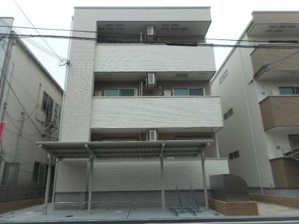大阪府大阪市平野区、平野駅徒歩13分の新築 3階建の賃貸アパート