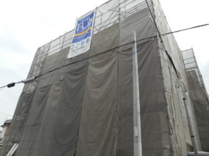 大阪府大阪市東住吉区、美章園駅徒歩9分の新築 3階建の賃貸アパート