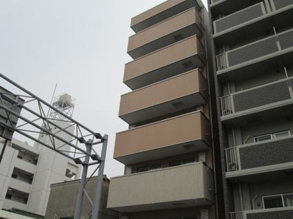 大阪府大阪市東住吉区、東部市場前駅徒歩2分の築2年 7階建の賃貸マンション