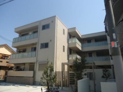 大阪府大阪市平野区、加美駅徒歩13分の築2年 3階建の賃貸アパート