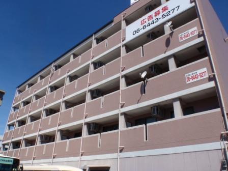 大阪府大阪市平野区、平野駅徒歩7分の築16年 5階建の賃貸マンション