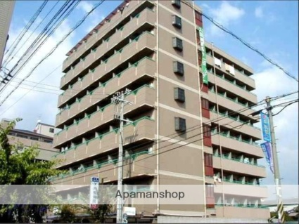 大阪府大阪市平野区、加美駅徒歩17分の築26年 9階建の賃貸マンション