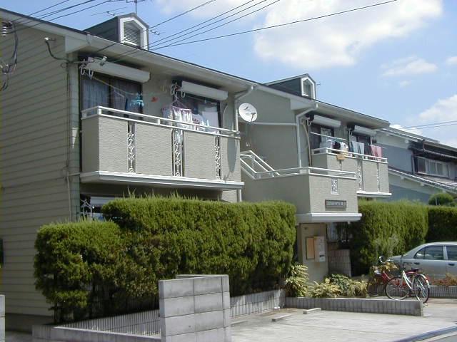 大阪府大阪市生野区、平野駅徒歩9分の築27年 2階建の賃貸アパート