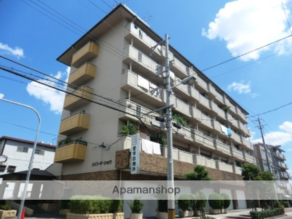 大阪府大阪市平野区、平野駅徒歩11分の築30年 6階建の賃貸マンション