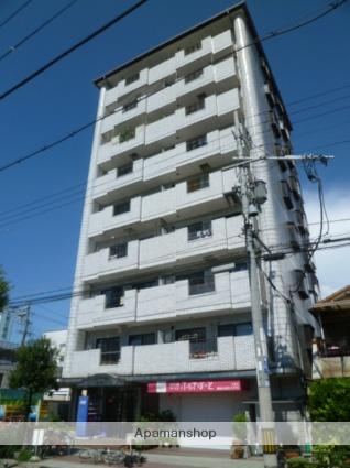 大阪府大阪市平野区、平野駅徒歩17分の築27年 9階建の賃貸マンション