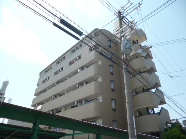 大阪府大阪市平野区、久宝寺駅徒歩21分の築27年 7階建の賃貸マンション