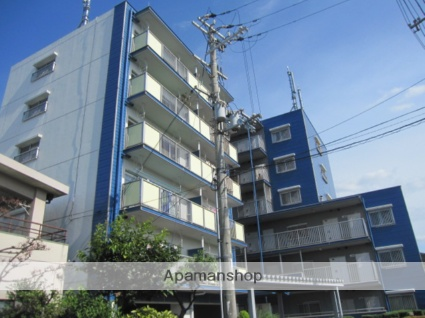 大阪府大阪市平野区、加美駅徒歩14分の築29年 6階建の賃貸マンション