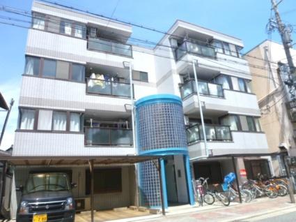 大阪府大阪市東住吉区、平野駅徒歩16分の築26年 4階建の賃貸マンション