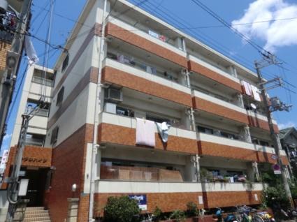 大阪府大阪市平野区、平野駅徒歩5分の築31年 4階建の賃貸マンション
