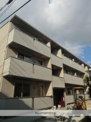 大阪府大阪市生野区、東部市場前駅徒歩14分の新築 3階建の賃貸アパート