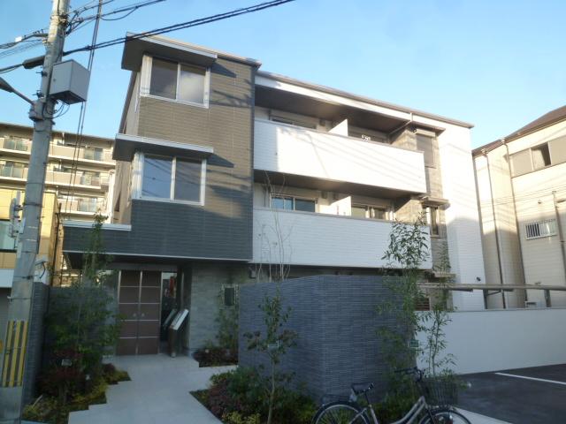 大阪府大阪市生野区、平野駅徒歩7分の新築 3階建の賃貸マンション