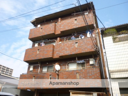 大阪府大阪市平野区、平野駅徒歩20分の築32年 4階建の賃貸マンション