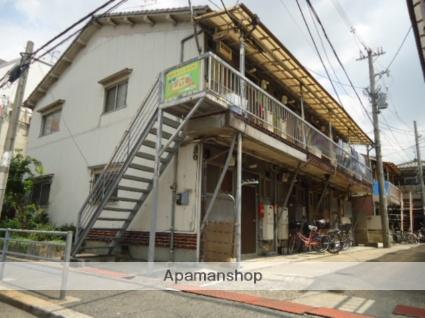 大阪府大阪市平野区、加美駅徒歩13分の築41年 2階建の賃貸アパート