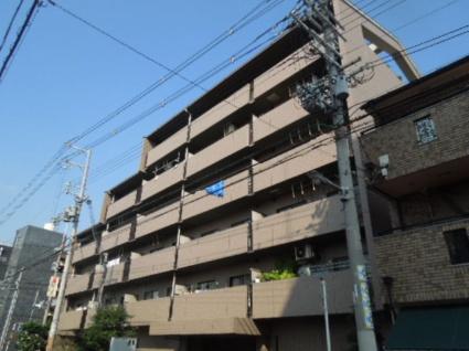 大阪府大阪市東住吉区、東部市場前駅徒歩5分の築19年 6階建の賃貸マンション