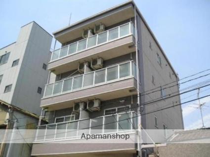 大阪府大阪市平野区、平野駅徒歩8分の築17年 4階建の賃貸マンション