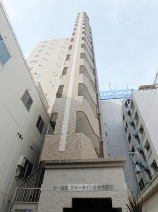 大阪府大阪市中央区、大阪難波駅徒歩6分の築9年 15階建の賃貸マンション