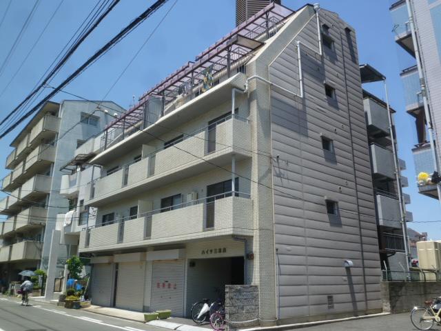 大阪府大阪市生野区、北巽駅徒歩8分の築31年 5階建の賃貸マンション