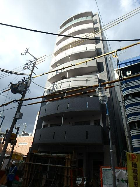 大阪府大阪市中央区、近鉄日本橋駅徒歩4分の新築 10階建の賃貸マンション
