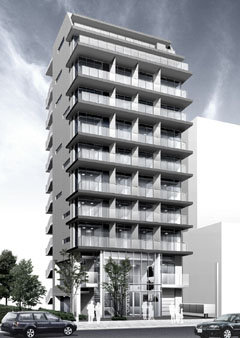 大阪府大阪市浪速区、JR難波駅徒歩8分の築10年 11階建の賃貸マンション