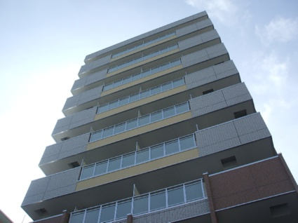 大阪府大阪市浪速区、JR難波駅徒歩14分の築6年 10階建の賃貸マンション