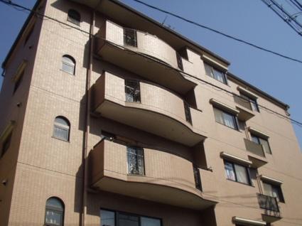 大阪府大阪市天王寺区、桃谷駅徒歩10分の築25年 5階建の賃貸マンション